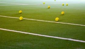 Tenniskugeln Stockfoto