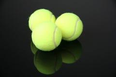 Tenniskugeln Stockfotografie