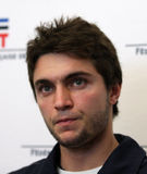 Tennisman's francuski Gilles Simon Zdjęcia Stock