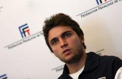 Tennisman's francuski Gilles Simon Obrazy Royalty Free