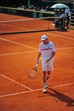 Tennismann Sieger Crivoi - Davis-Cup Lizenzfreies Stockbild