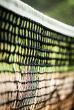 Tennisnettonahaufnahme Stockbild