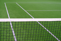 Tennisnetz Stockfoto