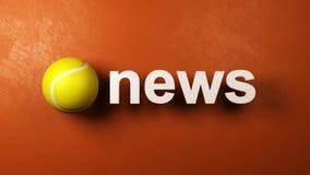 Tennisnyheterna arkivfilmer