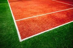 Tennisplatz stockbilder