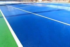 Tennisplatz Stockfotografie