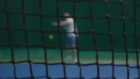 Tennisprofi stock video