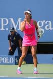 Tennisprofi Shuai Peng von China während runden Matches 4 Lizenzfreies Stockbild