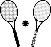 Tennisracket Royaltyfri Bild