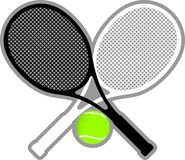Tennisracket Royaltyfri Bild
