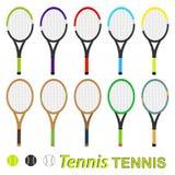 Tennisraket Stock Afbeeldingen