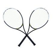 Tennisraketen Lizenzfreies Stockfoto