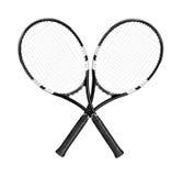 Tennisraketen Lizenzfreie Stockbilder