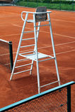 Tennisreferentstuhl Lizenzfreies Stockfoto