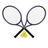 Tennisschläger lizenzfreie abbildung