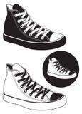 Tennisschoenen Royalty-vrije Stock Afbeelding