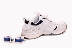 Tennisschoenen Royalty-vrije Stock Afbeeldingen