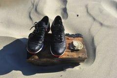 Tennisschoenen Stock Foto