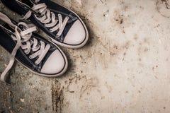 Tennisschoenen stock fotografie
