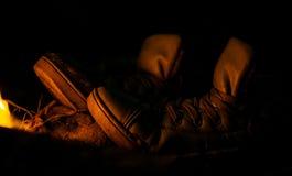 Tennisschoenen Stock Foto's