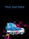 Tennisschoenen, gymnastiek-schoenen Stock Afbeelding