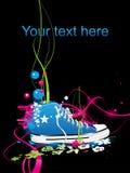 Tennisschoenen, gymnastiek-schoenen Royalty-vrije Stock Afbeelding