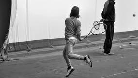 Tennisschool Stock Afbeeldingen