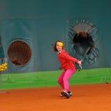 Tennisschool Royalty-vrije Stock Fotografie