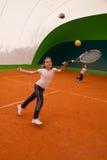 Tennisschool Stock Foto