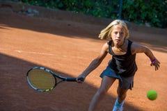Tennisschool Royalty-vrije Stock Afbeeldingen