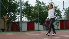 Tennisschool openlucht Stock Foto's