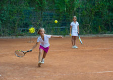 Tennisschule Stockfotos
