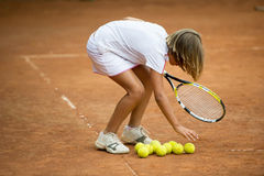 Tennisschule Lizenzfreies Stockbild