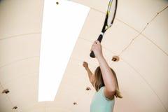 Tennisschule Stockfoto