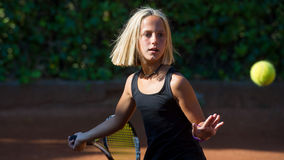 Tennisschule Lizenzfreie Stockbilder
