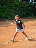 Tennisskola Arkivfoto