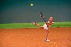 Tennisskola Arkivbild