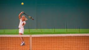Tennisskola Arkivbilder
