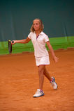 Tennisskola Royaltyfri Foto
