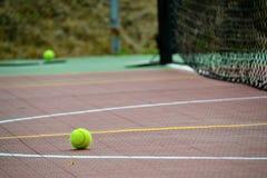 Tennisspeelplaats Royalty-vrije Stock Afbeelding