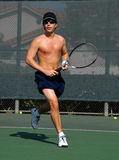 tennisspelare 2 Arkivfoton