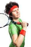 Tennisspelare Arkivfoto