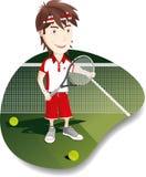 Tennisspelare Royaltyfri Fotografi