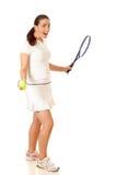 Tennisspelare Royaltyfri Foto