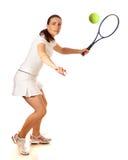 Tennisspelare Royaltyfria Foton
