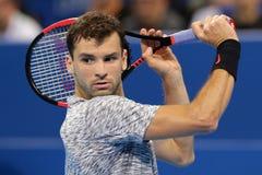 Tennisspelare Grigor Dimitrov Fotografering för Bildbyråer