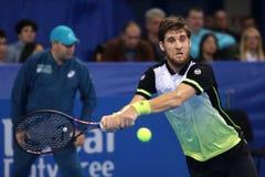 Tennisspelare Martin Klizan Fotografering för Bildbyråer