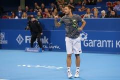 Tennisspelare Viktor Troicki Arkivbild