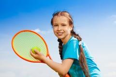 Tennisspeler Stock Foto's