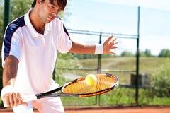 Tennisspeler royalty-vrije stock fotografie